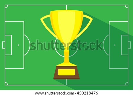 football championship - stock vector