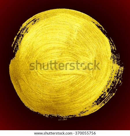 golden background - stock vector