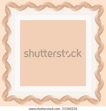 guilloche background - stock vector