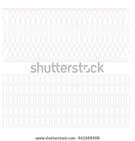 Guilloche Texture Color Pattern Certificate Voucher Stock ...