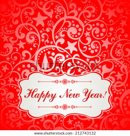 2015 happy new year greeting card stock vector 212743132 shutterstock 2015 happy new year greeting card vector illustration m4hsunfo