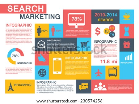 Infographic Concept 1 - stock vector
