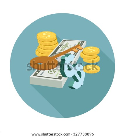 Investment Colored Vector Illustration