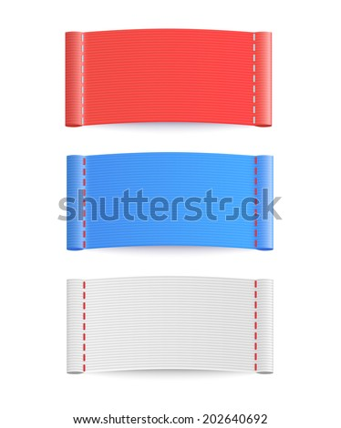 labels. Vector.  - stock vector