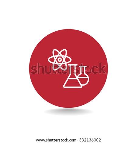 laboratory icon - stock vector