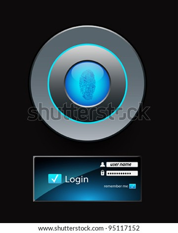 login background. Vector eps 10 - stock vector