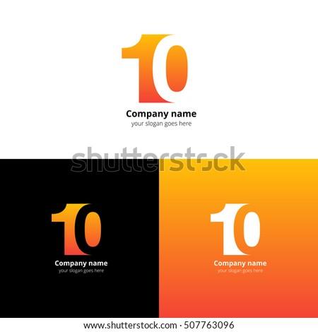 10 Logo Icon Flat Vector Design Stock Vector 507703423 - Shutterstock