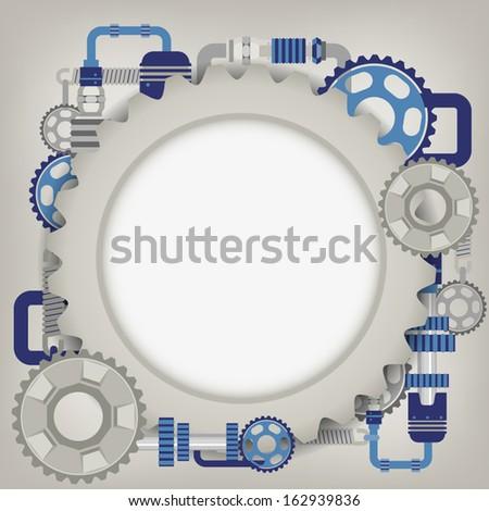 mechanism  - stock vector