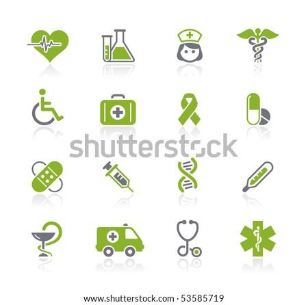 Medicine & Heath Care // Natura Series - stock vector