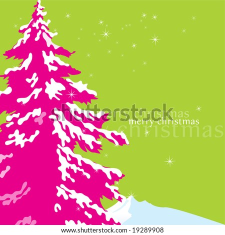 ''merry_christmas'' - stock vector
