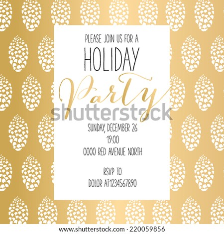 Merry Christmas and Happy New Year Card Vector illustration abstract Christmas Background - stock vector