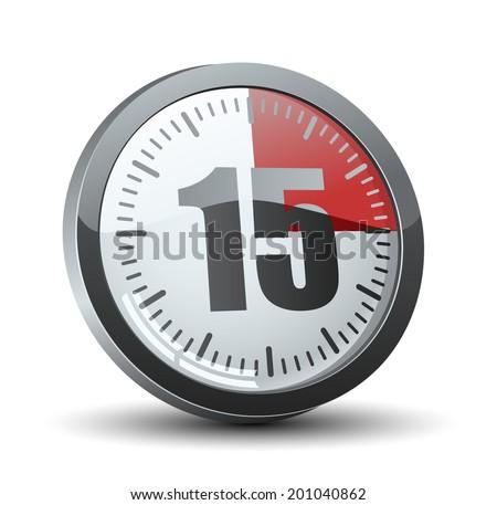 set timer 15 mins