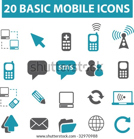 20 mobile connection signs