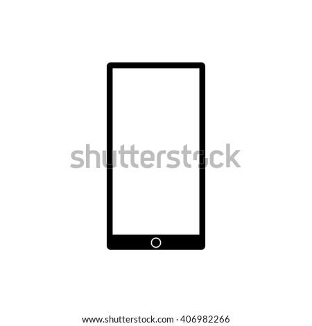 mobile gadget icon - stock vector
