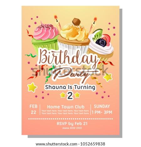 2nd birthday party invites