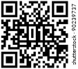 2012 New Year counter, QR code vector. - stock