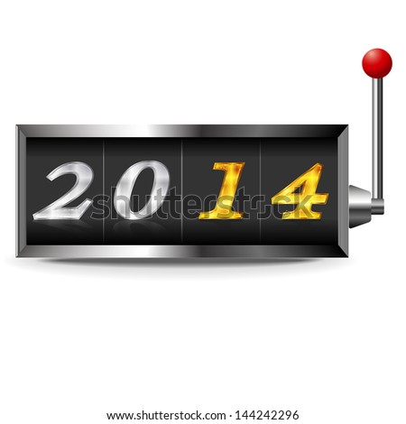 2014 New Year slot