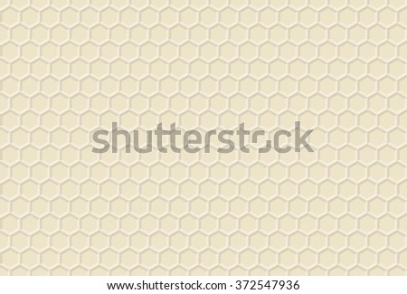 Ornament honey vector decorative Pattern honeycomb  background beehive texture honeyed hexagon - stock vector