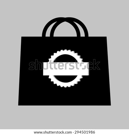 pack vector design paper pouch bags icons - stock vector