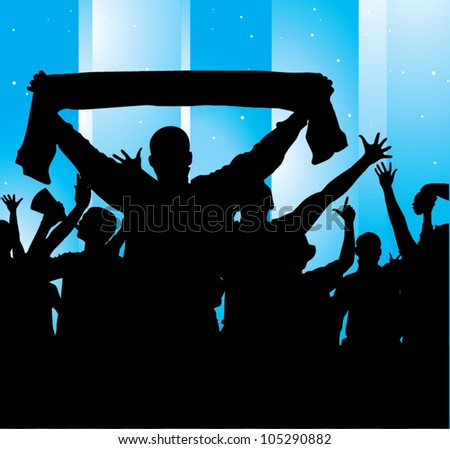 Poster for sports championships - stock vector