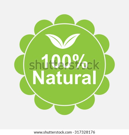 100% quality mark, labels, stickers, stamps, labels designed for products and web sites, fully editable vector image - stock vector