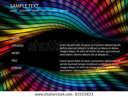 techno rainbow background - photo #46