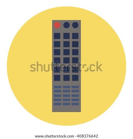 remote - stock vector