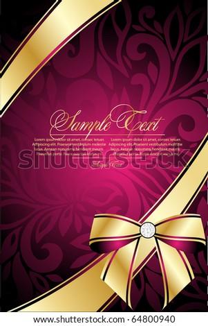 romantic  celebrate background - stock vector