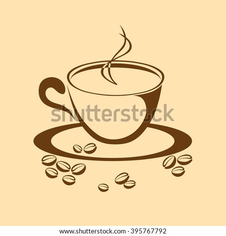 s cup of coffee, coffee background