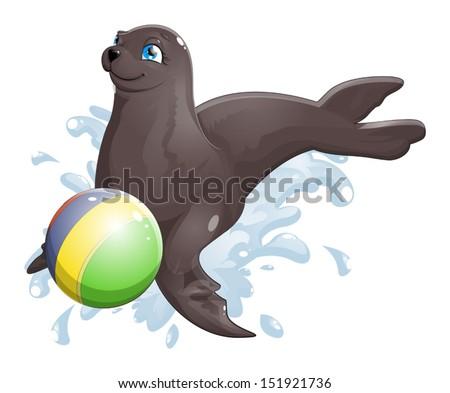 seal - stock vector