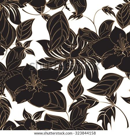 seamless flower background flower single flower backgrounds floral pattern wallpaper