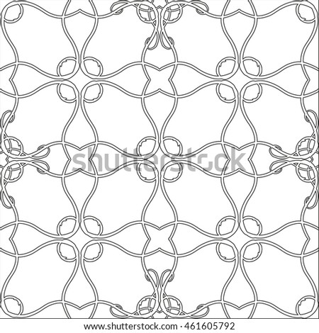 silhouette abstract background mosaic white black lace