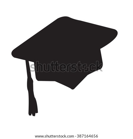 Asian Man Wearing Traditional Conical Hat Stock Vector