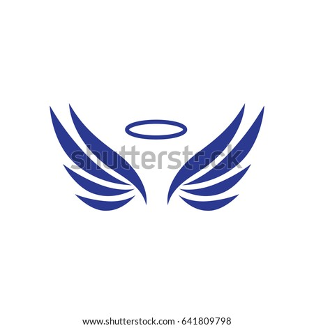 Sketch Angel Wings Wings Icons Set Stock Vector Hd Royalty Free