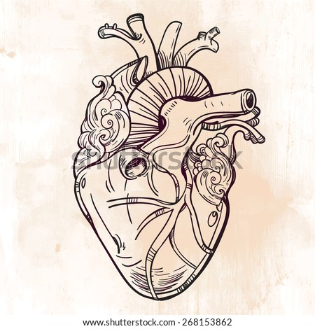 101 heart tattoo designs that will cause you fall in love - 736×785