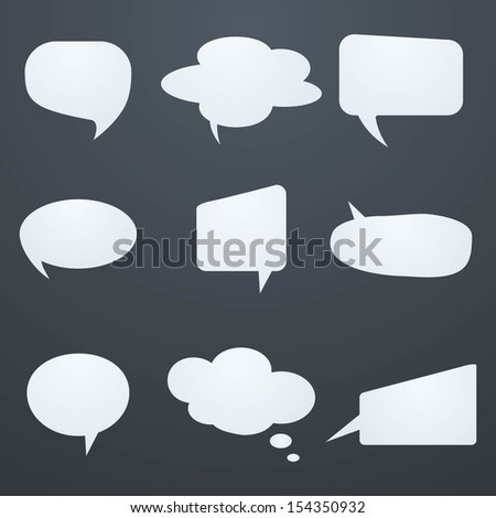 Speech Bubble.Vector