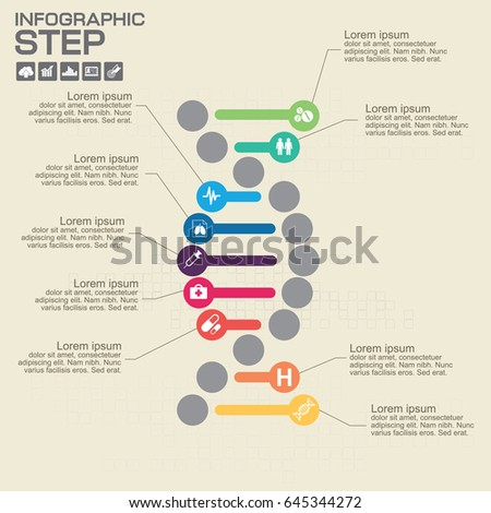 9 steps infographic dna elements process stock vector 2018 9 steps infographic dna elements process diagram vector eps10 illustration ccuart Choice Image
