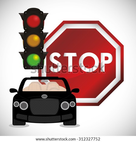 stop sign design, vector illustration 10 eps graphic