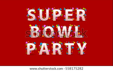 Super Bowl Party Stock Photos, Royalty-Free Images & Vectors ...