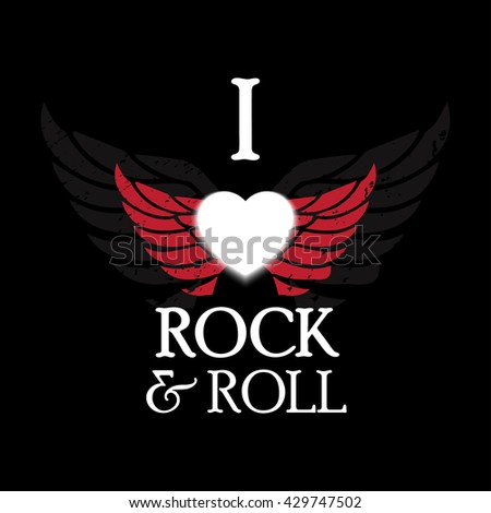 I Love Rock And Roll Stock Images, Royalty-Free Images ...