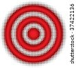 target (from dots design series) - stock photo