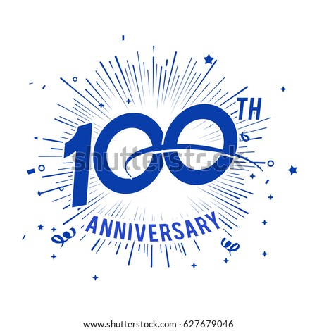 anniversary logo stock images  royalty free images 10th anniversary logos 100th anniversary logos clip art with starts