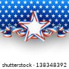 4th July background, EPS 10, contains transparency. - stock vector