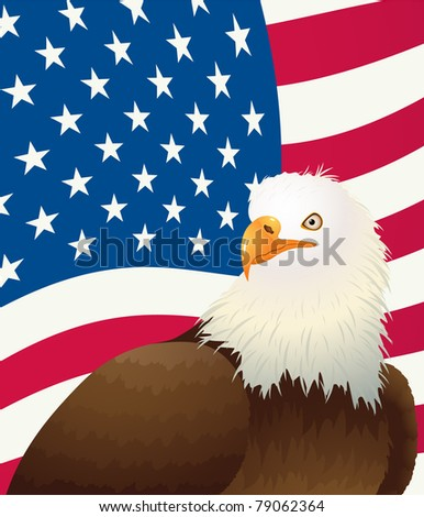 4th July Independence day Background. VECTOR