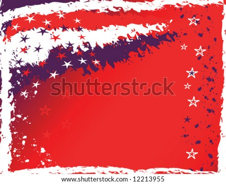 4th of July Background - stock vector