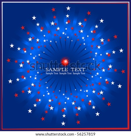 4th of July Design - stock vector