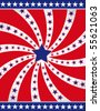 4th of July vector background - stock vector