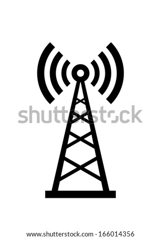 Transmitter icon  - stock vector