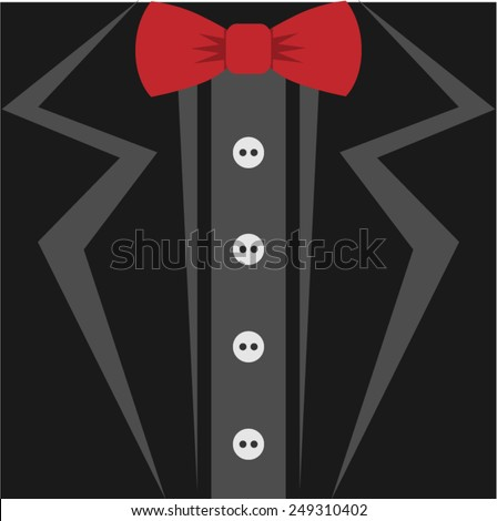 tuxedo  - stock vector