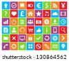 Universal Colored Icons For Web and Mobile - stock vector